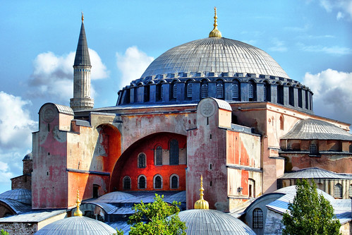Hagia Sophia, Istanbul (by: David Spender, creative commons)
