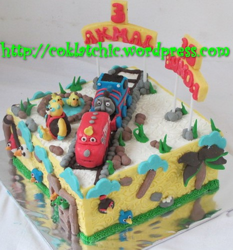 Cake Chuggington, Thomas dan Angry Bird