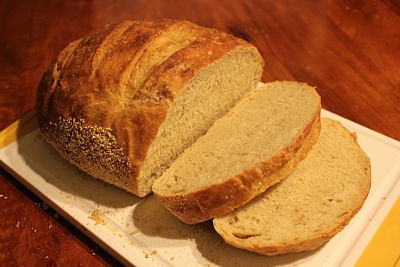 Frugal Living Easy Bread Recipe