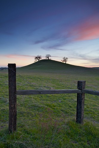 ca sunset sky usa tree green grass northerncalifornia clouds fence landscape photography folsom frame sacramento oaks posts knoll oaktree barbwire ernogy