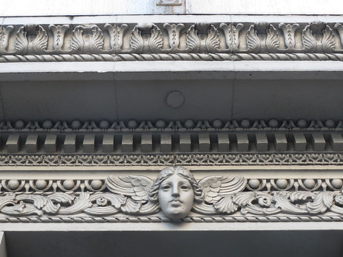 Decorative Face on Architectural Border