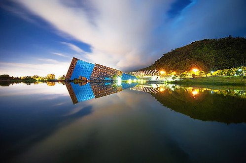 county blue sky lake color history water beautiful beauty museum architecture night clouds photoshop reflections design nikon contemporary daniel perspective taiwan science hills tokina software hour nik museo 台灣 interactive 雲 山 diseño yilan 宜蘭 建築 belleza aguilera 天空 reflejos 水 博物館 設計 湖 漂亮 燈 倒影 美麗 晚上 cs6 lanyang d5000 蘭陽博物館 1116mm urbaguilera
