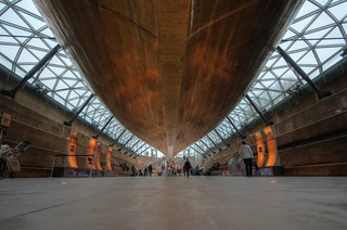 Cutty Sark the Levitating Loviathan