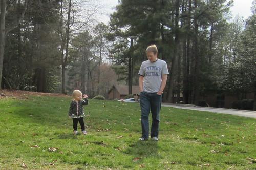 walkin' & chattin' w/dad
