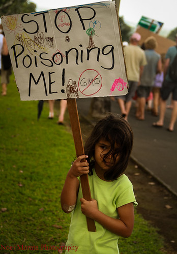 Monsanto GMO march in Hilo