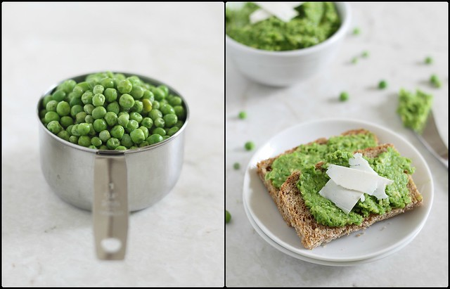 pea and avocado spread