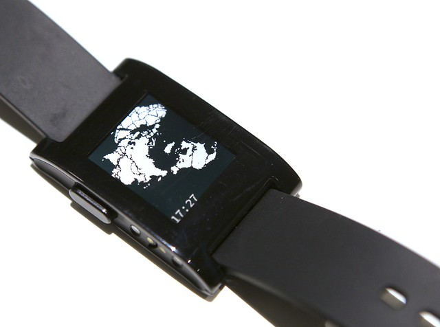 Pebble Polar Map