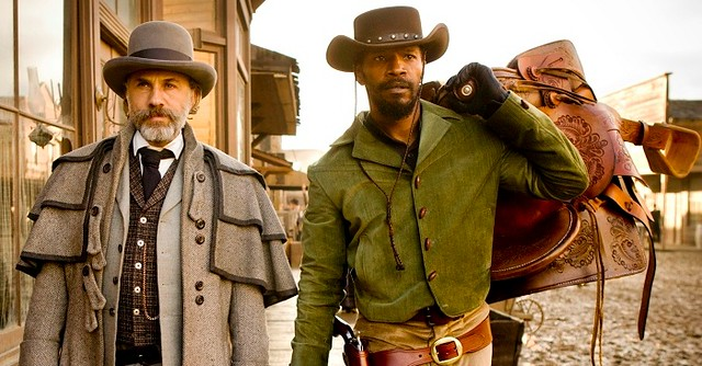 Two of my all-time favourite actors sharing the same screen in Django Unchained