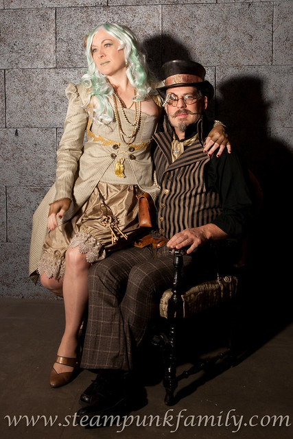 Steampunk Family new clothing