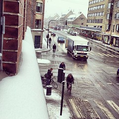 Surely this is the last snow before spring. #vikingbiking #copenhagen