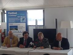 Presentació del II Festival del Mar-VI Fira Marítima de la Costa Daurada al Club Nàutic Cambrils. Crèdit foto: Club Nàutic Cambrils.