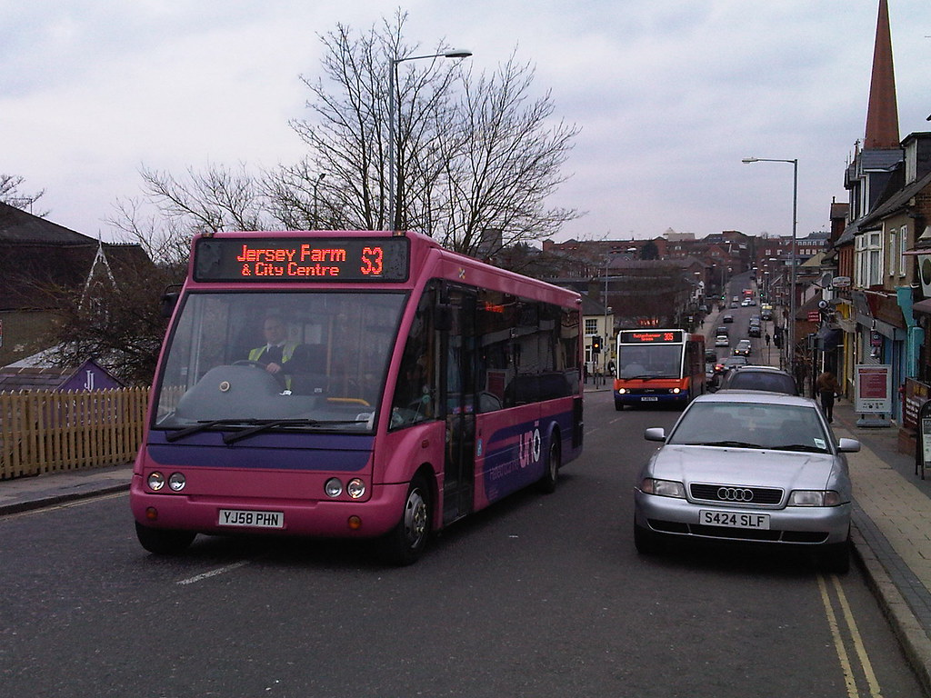 Uno Optare Solo OS404 YJ58PHN on Route S3 from St Peter's