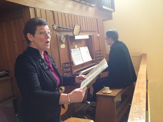 Sipkje Schimmel zingt Bach