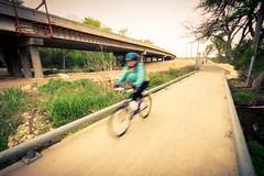 Biker Blurry