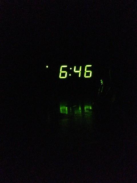 6:46am
