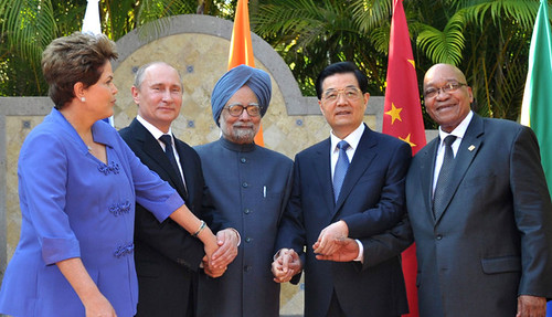 Leaders from the Brazil, India, Russia, China and South Africa (BRICS) countries. The summit of these states will hold their first gathering on African soil this week in the Republic of South Africa. by Pan-African News Wire File Photos