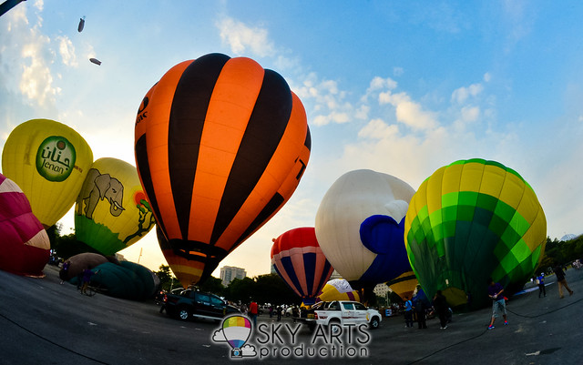 5th Putrajaya International Hot Air Balloon Fiesta 2013 Photo - TianChad.com