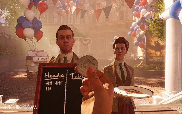 BioShock Infinite - Lucetes' Coin Toss