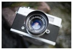 Konica Hexar 1:1.8 f = 45mm Cyclops CdS Eye (Konica Auto S2/Wards am551)