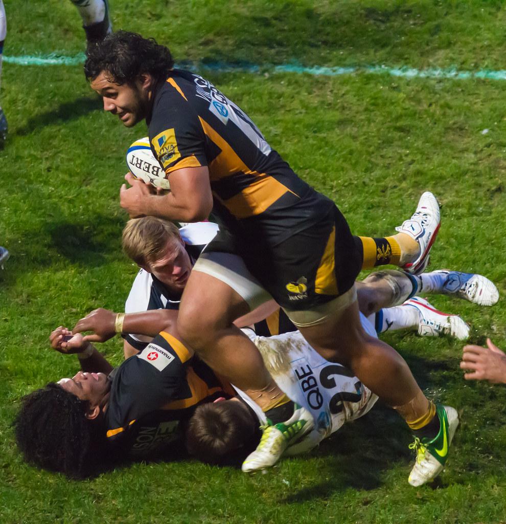 London Wasps (29) V Bath Rugby (15