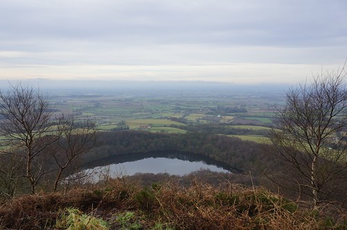 Gormire Lake from above Garbutt Wood, North York Moors