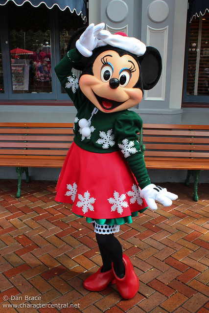 Character fun on Main Street USA