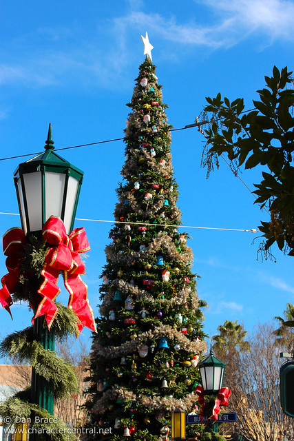 Christmas on Buena Vista Street