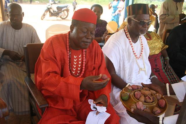 Kola Nut @ Igbo New Yam Festival