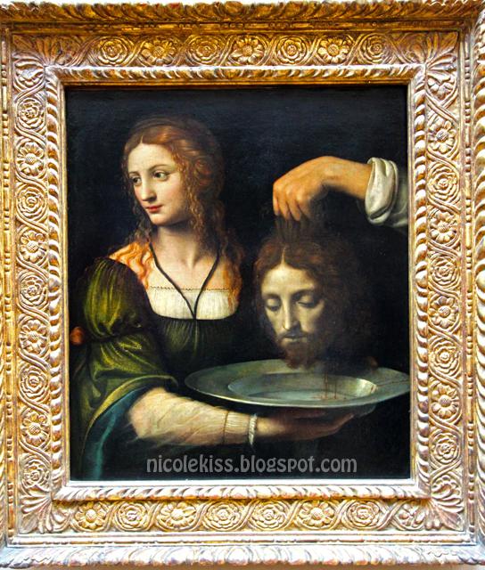 Painting of Jesus head