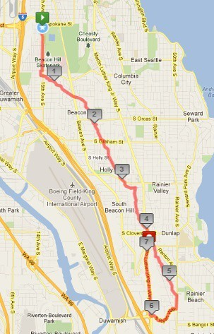 Today's awesome walk, 7.1 miles in 2:04 by christopher575