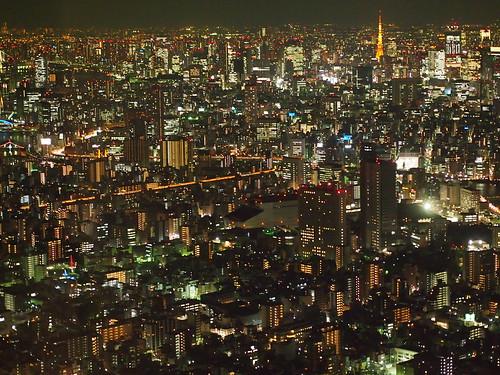 [フリー画像素材] 建築物・町並み, 都市・街, 夜景, 風景 - 日本, 日本 - 東京 ID:201301192000