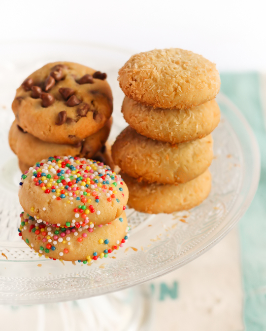 Assorted Condensed Milk Cookies