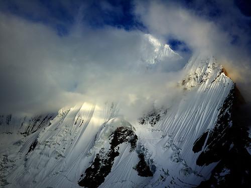 日落 雪山 巴基斯坦 喀喇昆仑山脉