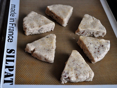 Cinnamon Pecan GF Scones Raw