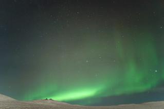 Aurora in Twelvemile Summit, AK with Sony DSC-RX1 January 2013