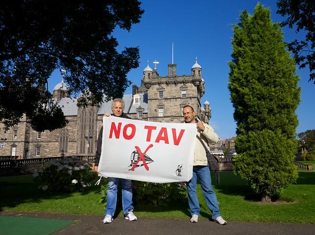 NO TAV scozzesi!!