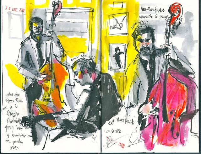 Café Jazz Naima. Sevilla