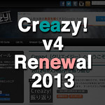 Creazy!バージョン4,リニューアル2013年!