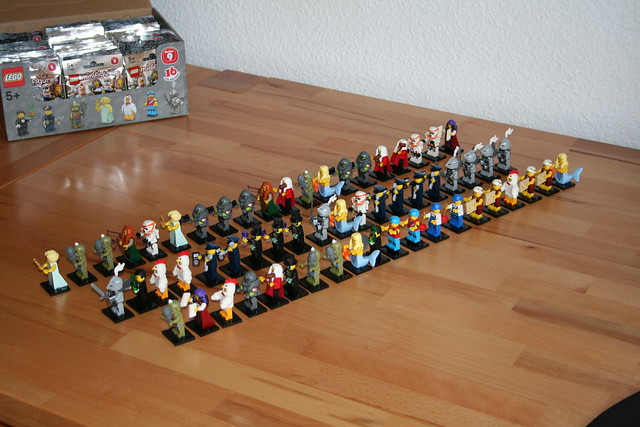 LEGO Minifigures Series 9 Unpacked