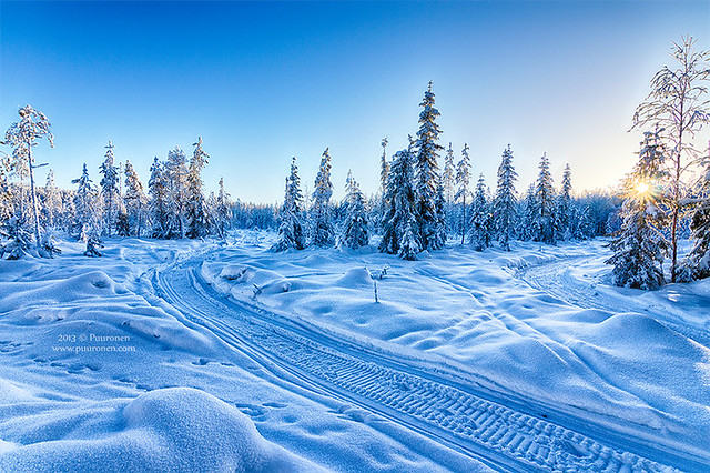 January on Finland