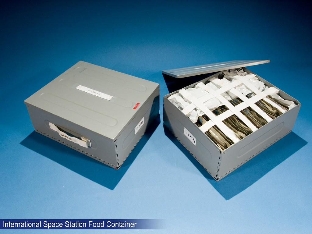 International Space Station Food Container