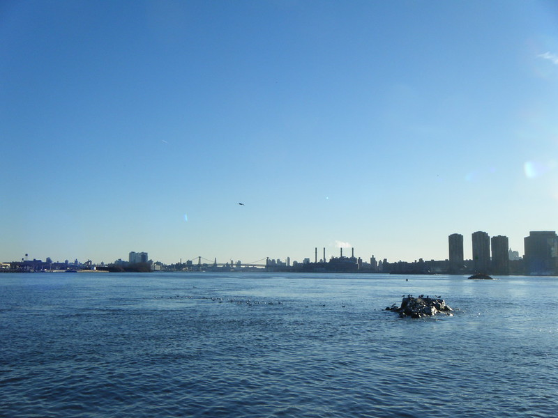 View from the tip of Four Freedoms Park