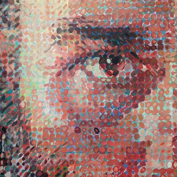 I love Chuck Close so much.