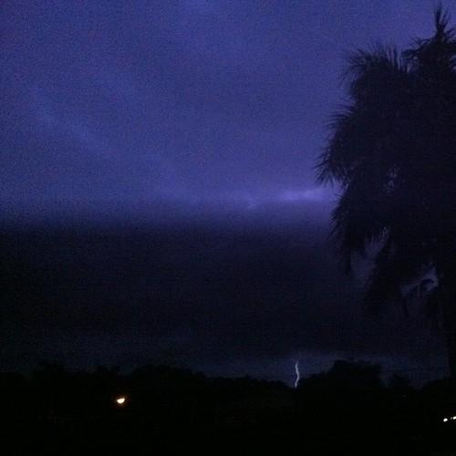 A storm!