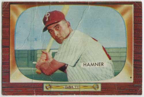1955 Bowman Granny Hamner