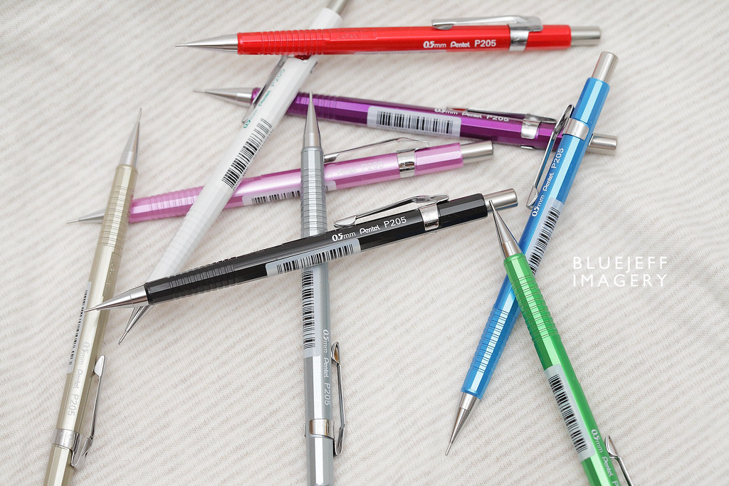 Pentel P205 Pencils