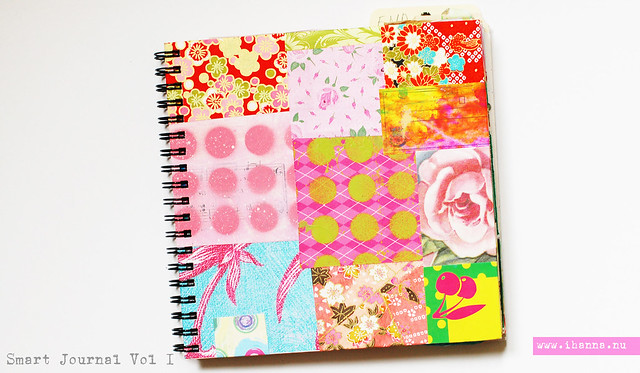 Patchwork Cover Smart Journal vol 1