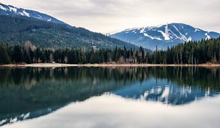 Whistler Blackcomb Reflection