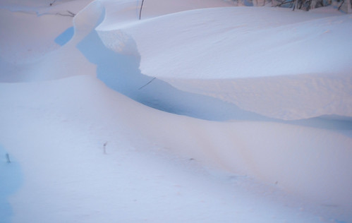 Beauty in the wake of Nemo-Snow Drift by Carly Sabatino via I {heart} Rhody