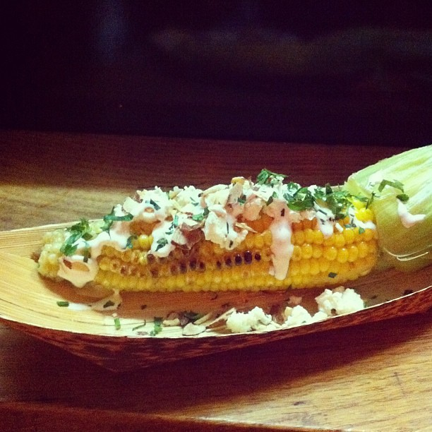 This corn is the bomb @heirloomla